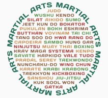 Martial Arts Kids Clothes