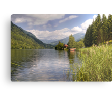 Afritzer See ( Afritzer Lake ) - Carinthia - Austria Metal Print
