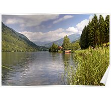 Afritzer See ( Afritzer Lake ) - Carinthia - Austria Poster