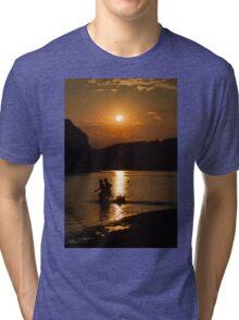 boy and girl  Tri-blend T-Shirt