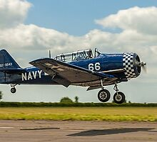 Confusing T-6J Harvard 4M G-BUKY by Colin Smedley