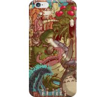 Myazaki's Monsters iPhone Case/Skin