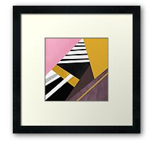 Graphic Combination  Framed Print