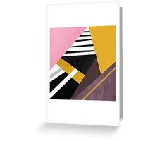 Graphic Combination  Greeting Card