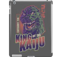 King of the Kaiju iPad Case/Skin