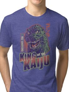 King of the Kaiju Tri-blend T-Shirt