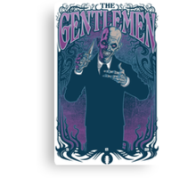 Gentlemen Canvas Print