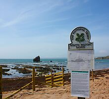 Thurlestone Beach South Devon by lhyland