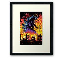King of the Monsters Framed Print