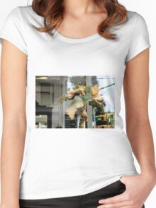 Shave And A Haircut 760 Bits... Women's Fitted Scoop T-Shirt