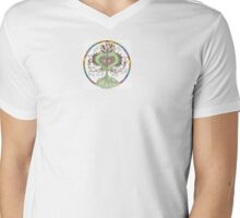 Heart Inspired Tree Mens V-Neck T-Shirt