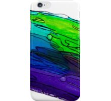Abstract Cool Tones iPhone Case/Skin
