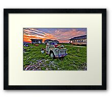 This Must be Truck Heaven Framed Print