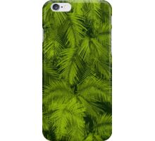 Makana Palms Hawaiian Tropical Print - Green iPhone Case/Skin