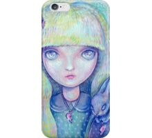 Bethany as a Doll iPhone Case/Skin