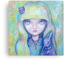 Bethany as a Doll Canvas Print