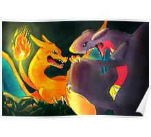 Dark Cave: Charizard Poster