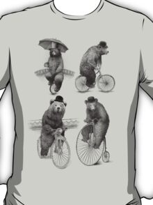 Bears on Bicycles T-Shirt