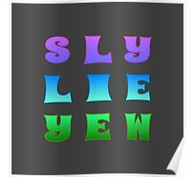 Sly Lie Yew Poster