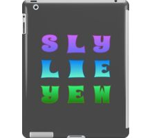Sly Lie Yew iPad Case/Skin