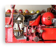 Engine 2 Helmets Canvas Print