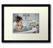 Shower Time Framed Print