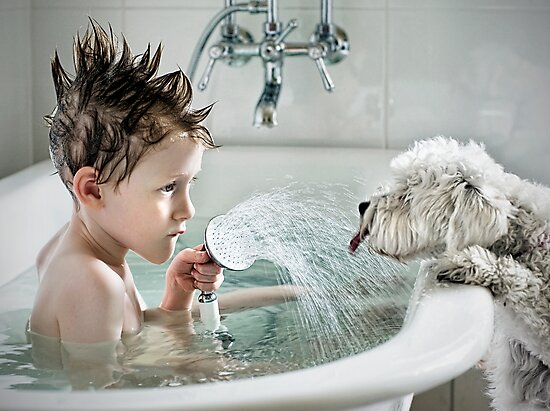 Shower Time by Nicole Goggins