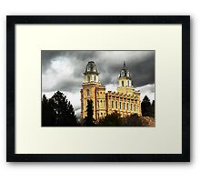 Manti LDS Temple  Framed Print