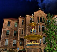 Robert Brough Memorial Fountain, Sydney Hospital by andreisky