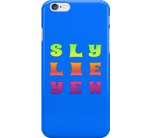 Slew Lie Yew iPhone Case/Skin