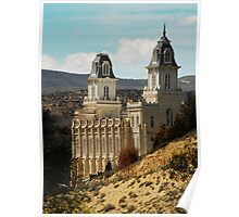 Manti Temple - From Whence it Sprang Poster
