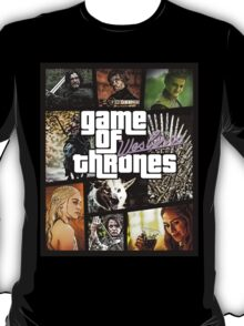 Game of Thrones / Grand Theft Auto T-Shirt