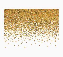 Gold Confetti Kids Clothes