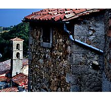 village. tuscany, italy Photographic Print