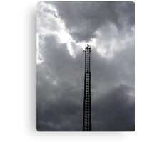 Tesla Ladder Canvas Print