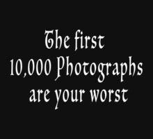 The First 10000-wht by Wellington Guzman