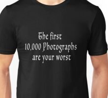 The First 10000-wht Unisex T-Shirt