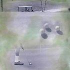 Golf III 20x16 Inches by Loren Ellis
