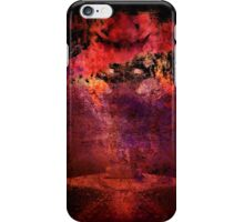 Hiding (Image and Poem) iPhone Case/Skin