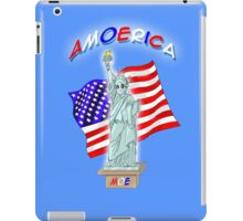 Amoerica the Land of the Free iPad Case/Skin