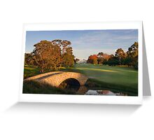 Riversdale Club House Greeting Card