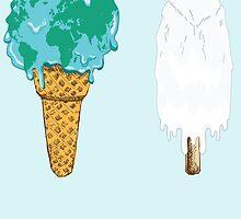 Global Warming Ice Cream by Lisa-Mancini