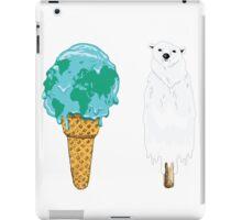 Global Warming Ice Cream iPad Case/Skin