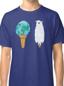 Global Warming Ice Cream Classic T-Shirt