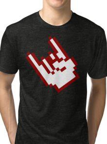 Chips & Metal hand Tri-blend T-Shirt