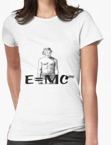 Einstein Womens Fitted T-Shirt