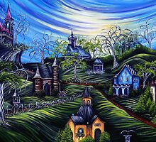 Hallows Eve Countryside by Sherry Arthur