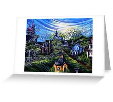 Hallows Eve Countryside Greeting Card