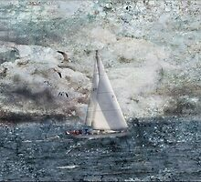 Canadian Sailin by Crista Peacey