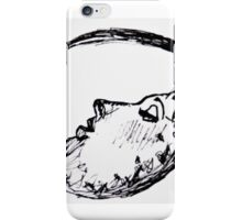 Crescent Moon Lady iPhone Case/Skin